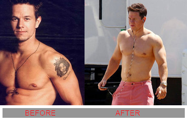 Mark wahlberg tattoos
