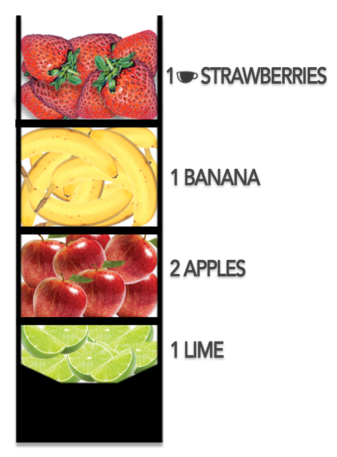 how to make a healthy fruit smoothie